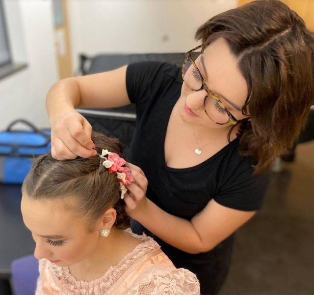 Cosmetology School Lawrence Student