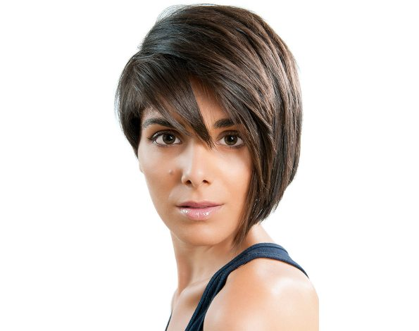 Cosmetology School Overland Park Asymmetrical Long Pixie Cut
