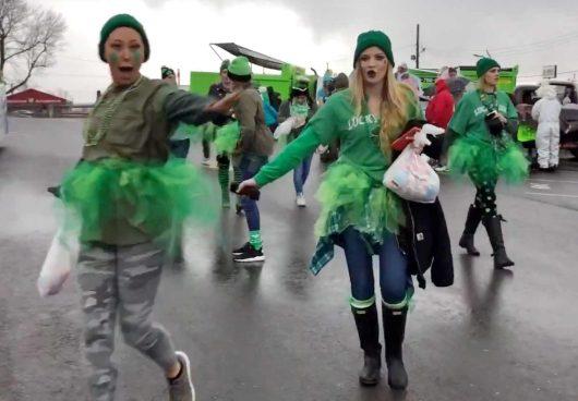 St Pattys Parade