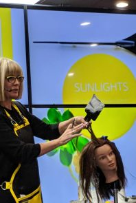 Candy Shaw Guest Artist Z Hair Academy Sunlights Balayage 1